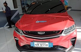 Selling Red Geely Coolray in Manila