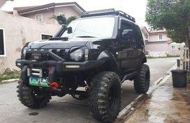 Selling Black Suzuki Jimny 2014 in Quezon City