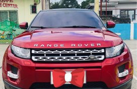 Red Land Rover Range Rover Evoque for sale in Manila