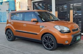 Selling Gold Kia Soul 2010 Hatchback in Manila
