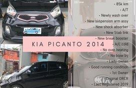 Sell Black 2014 Kia Picanto in Muntinlupa