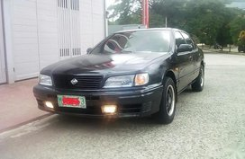 Black Nissan Cefiro 2.0 JK (A) 1998 for sale in Antipolo