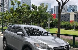 Silver Mazda CX-9 2.5 2WD Turbo (A) 2014 for sale in Mandaluyong City