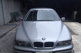 Silver BMW 523I 1996 for sale in Manila