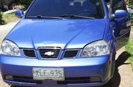Blue Chevrolet Optra 2005 for sale in Manila