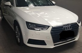 Sell White 2017 Audi A4 Sedan Automatic at 1589 km in Quezon City