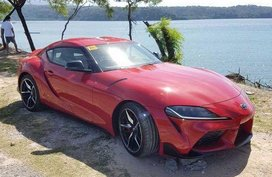 Selling Red Toyota Supra 2019 in Quezon City