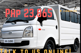 Buy Hyundai H100 and earn when you own it.