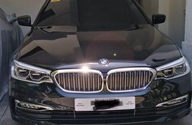Selling Black BMW 520I 2020 in Malay