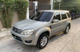 Silver Ford Escape 2010 for sale in Quezon City