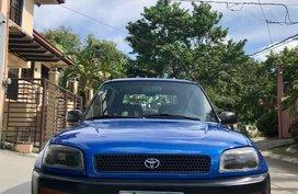 Blue Toyota RAV4 1996 for sale in Manila