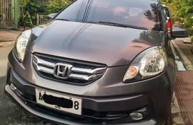 Selling Grey Honda Brio Amaze 2015 in Manila