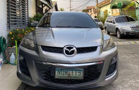 Grey Mazda Cx-7 for sale in Quezon