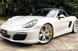 White Porsche Boxster 2015 for sale in Las Piñas