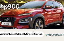 Brand New 2020 Hyundai Kona Php 900 down payment