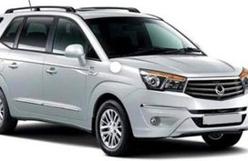 Sell Pearl White SsangYong Rodius in Cebu City