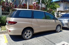 Silver Toyota Previa 2005 for sale in Pasig