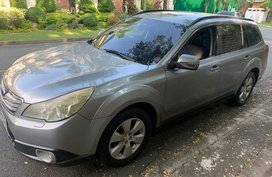 Silver Subaru Outback 2010 for sale in Mandaluyong City
