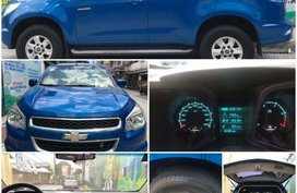 Sell Blue 2014 Chevrolet Trailblazer in Quezon City