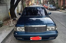Blue Toyota Crown 1990 for sale in Manila