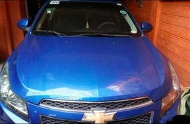 Blue Chevrolet Cruze 2013 for sale in Marikina