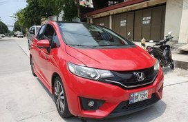 Red Honda Jazz for sale in Quezon City