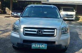 Silver Honda Pilot for sale in Cebu
