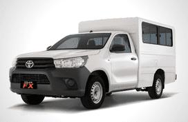 Toyota Hilux FX w/o Rear AC 2.4 4x2 MT