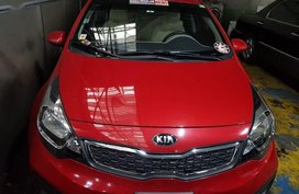 Red Kia Rio for sale in PSEC