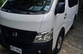 White Nissan Nv350 urvan for sale in Manila