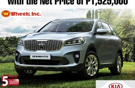 Kia Sorento 2.2L Diesel AT with the NET PRICE of P1,525,000