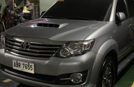 Silver Toyota Fortuner 2016 for sale in Manila