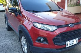 Sell Red 2016 Ford Ecosport in Manila