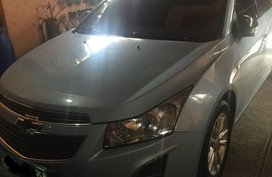 Silver Chevrolet Cruze 2013 for sale in Manila