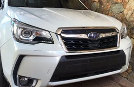 Sell White 2016 Subaru Forester in Quezon City