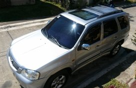 Silver Mazda Tribute 2006 for sale in Tarlac