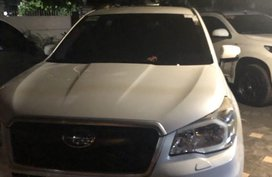 Sell White Subaru Forester 2013 in Manila