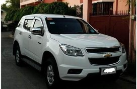 Pearl White Chevrolet Trailblazer for sale in Taft