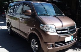 Selling Brown Suzuki APV 2013 Truck at 65000 km in Cainta
