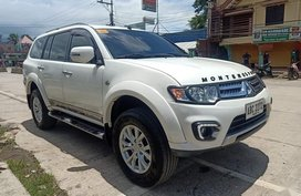 White Mitsubishi Montero Sports GLX 2015 for sale in Baroy
