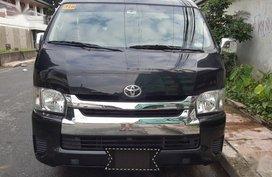 Sell Black 2018 Toyota Hiace Super Grandia in Quezon City
