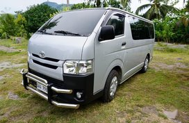 Silver Toyota Hiace 2010 for sale in Mambajao