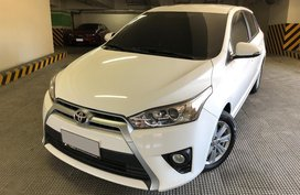 White Toyota Yaris 2017 for sale in Manila