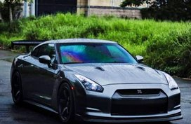 Silver Nissan GT-R 2010 for sale in Taguig City