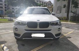 Sell Pearl White Bmw X3 in Quezon City