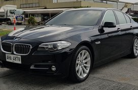 Black Bmw 520D 2015 for sale in Pasig