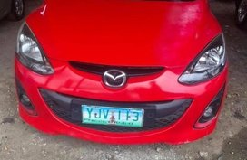 Red Mazda 2 for sale in Cebu City