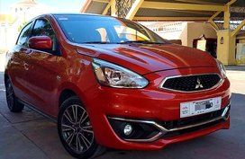 Red Mitsubishi Mirage 2018 for sale in Manila