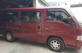 Sell Red Nissan Urvan in Manila