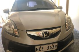 Selling Silver Honda Brio in Quezon City